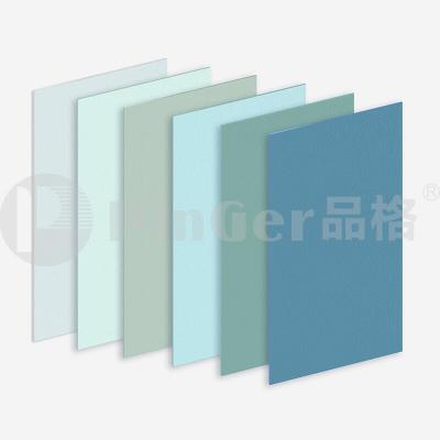 Decorative hospital plastic wall protection panel